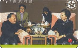 Hongkong  Phonecard Family  25 $ Autelca - Hong Kong