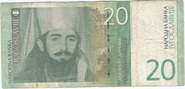Yugoslavia 20 Dinara 2000 Pk 154 A Ref 1 - Yugoslavia
