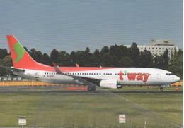 Boeing B 737-800 Aviation TWay Airlines B-737  T'Way Aereo Avion B.737 Aircraft B737 HL8000 - 1946-....: Era Moderna