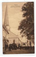 Hamme  De Kerk En Vrijheidsboom - Hamme
