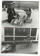 2 Photos C1975 - Kart à Pédales Kettcar - 2 Scans - Automobiles
