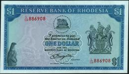 RHODESIA - 1 Dollar 02.08.1979 UNC P.38 - Rhodesië