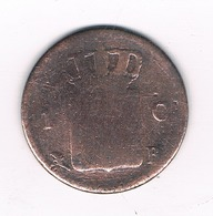 1 CENT 1826 B BRUSSEL  BELGIE /3505/ - Belgique