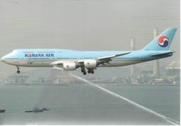 Boeing 747-8I  HL7636 Korean Air CARGO Airlines B 747 Avion Aviation B747 - 1946-....: Era Moderna