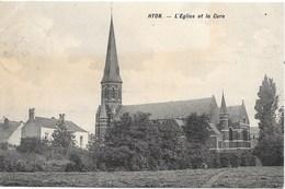 Hyon NA5: L'Eglise Et La Cure 1913 - Mons