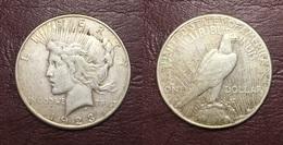 ETATS-UNIS - Dollar Paix - 1923 S - Émissions Fédérales