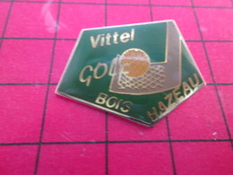 910c Pins Pin's  / Rare Et De Belle Qualité / THEME SPORTS : GOLF VITTEL BOIS HAZEAU - Golf