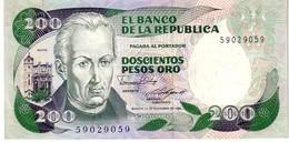Colombia P.429 200  Pesos 1985  Unc - Colombia