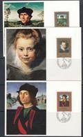 Liechtenstein 1985 Paintings 3v In Sheetlet  ** Mnh (F7732) - Ongebruikt