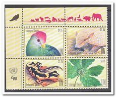 VN New York 2018, Postfris MNH, Birds, Animals, Plants - New York - Hoofdkwartier Van De VN