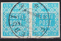 ESTLAND ESTONIA [1918] MiNr 0002 ( O/used ) [01] 2er - Estland