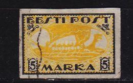 ESTLAND ESTONIA [1919] MiNr 0013 X ( O/used ) Schiffe - Estland