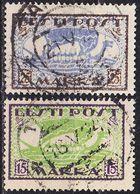 ESTLAND ESTONIA [1920] MiNr 0023-24 A ( O/used ) Schiffe - Estland
