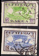 ESTLAND ESTONIA [1920] MiNr 0023-24 B ( O/used ) Schiffe - Estland