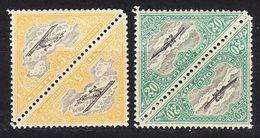 ESTLAND ESTONIA [1924] MiNr 0048 A Ex ( **/mnh ) [01] Flugzeug 2x 2er - Estland