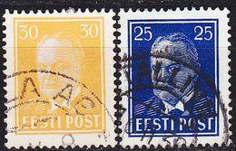 ESTLAND ESTONIA [1938] MiNr 0135-36 ( O/used ) - Estland