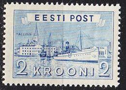 ESTLAND ESTONIA [1938] MiNr 0137 ( **/mnh ) Schiffe - Estland