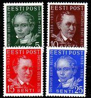 ESTLAND ESTONIA [1938] MiNr 0138-41 ( **/mnh ) - Estland
