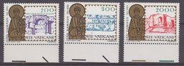 Vatican City 1984 San Damaso 3v ** Mnh (42439) - Vatican