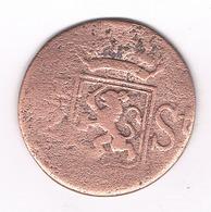 1/2 DUIT 1825? INDIA BATAV (sumatra , Indonesie) /3513/ - [ 4] Colonies