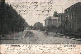 ! Alte Ansichtskarte Aus Rendsburg, Lornsenstraße, 1905 - Rendsburg