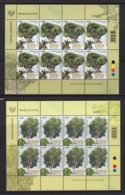 2.- CYPRUS 2019 THREE COMPLETE SHEETS  CENTENNIAL TREES IN CYPRUS - Chipre (República)