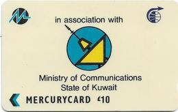 UK - Mercury - Company Logo - 27MERA - MER291 - Used - Reino Unido