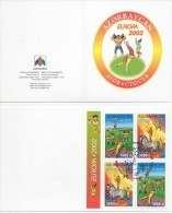 (O) Azerbaidjan (2002) - Booklet -  /  Circus - Cirque - Circ - Circo - Horse - Europa - Europe CEPT - Circus