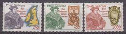 Vatican City 1985 San Tommaso Moro 3v ** Mnh (42439A) - Vatican