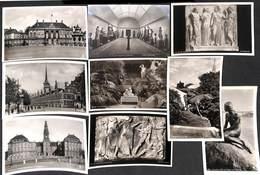 Danemark  - Lot Of 11 Postcards (voir Zie See Scans) - Danemark