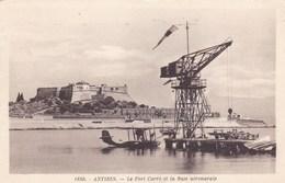 Alpes-Maritime - Antibes - Le Fort Carré Et La Base Aéronavale - Antibes