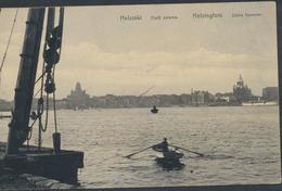 62-162 Suomi Finland Finnland Helsinki Helsingfors Satama Harbour Port Sent 1909 - Finnland