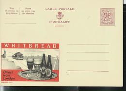 Publibel Neuve N° 1997  ( Bier - Bière - WHITBREAD  Direct From London - Camion  - Truck - Big Ben) - Enteros Postales