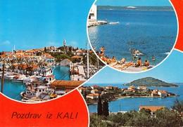 Croatia Kali 1983 / Fishing Ships, Port, Beach, Panorama - Kroatien