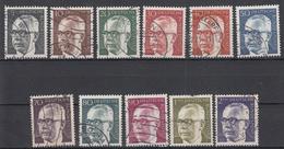 BUND - Michel - 1970 - Nr 635/45 - Gest/Obl/Us - [7] République Fédérale