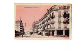 Cpa - 90 - BELFORT - Boulevard Carnot - N°7 - Tramway AMER PICON Travaux échafaudage - 1931 - Belfort - Ville
