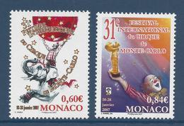 Monaco - YT N° 2566 Et 2567 - Neuf Sans Charnière - 2006 - Monaco