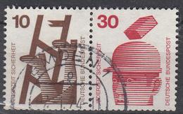 BUND - Michel - 1970 - Nr 695A + 698A - Gest/Obl/Us - [7] République Fédérale