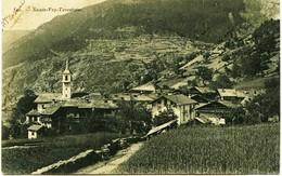 3585 - Savoie  -----SAINTE FOY TARENTAISE : LE  VILLAGE   - Circulée En-1906 - France