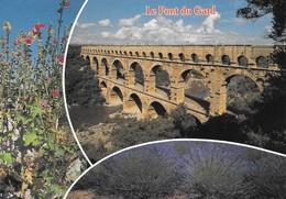 30 Le Pont Du Gard Tronçon De L'Aqueduc De Nîmes (2 Scans) - France