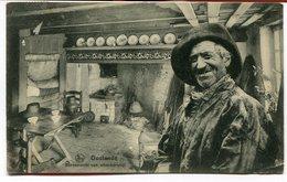 CPA - Carte Postale - Belgique - Ostende - Binnenzicht Van Visschershut - 1923 (M8188) - Oostende