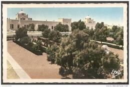 Cpsm Ouargla (algerie) Bordj Lieutaud (petite Pliure) - Ouargla