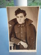 Très Belle Photo-cpa D'un Soldat Belge. 1939 - Guerre 1939-45