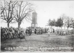 Evacuation De COBLENCE - Au Fort D'EHRENBREITSTEIN - 30 Septembre 1929 - Pendant Le Défilé. - Krieg, Militär