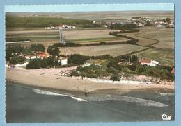 A087  CP SAINT-VINCENT-s-JARD  (Vendée)  La Plage  -  Vue Aérienne  ++++++ - Francia
