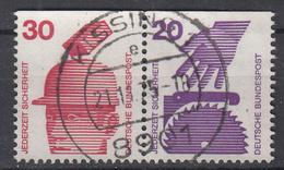 BUND - Michel - 1971 - Nr 696C + 698C - Gest/Obl/Us - [7] République Fédérale