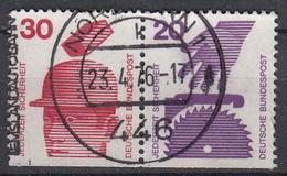 BUND - Michel - 1971 - Nr 698D + 696D - Gest/Obl/Us - [7] République Fédérale