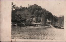 ! Alte Fotokarte Aus Hitzacker, Elbe, Fischerboote, Landpoststempel Penkefitz über Dannenberg, 1934 - Hitzacker