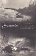 AK Seemannslos - Horch Was Der Wind... - Matrosen Bei Sturm - Ertrunkener - 1915 (40569) - Weltkrieg 1914-18