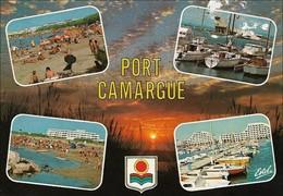 30 Port Camargue Divers Aspects (2 Scans) - France